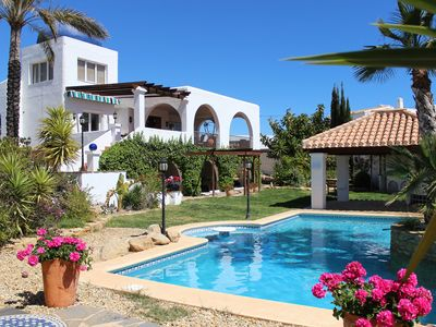 Photo for La Arruzafa, Mojacar Villa With Private Pool & Sea Views