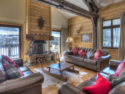 Photo for Lovely 5 bedroomed self catered chalet located in Les Gets sleeping up to 10
