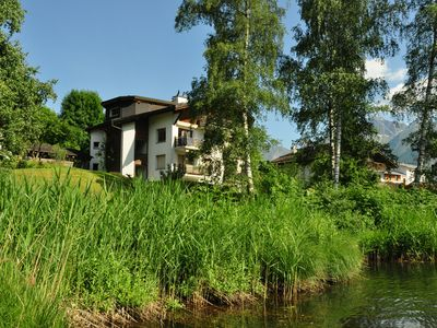 Photo for 3. 5 room apartment directly on the Laaxersee