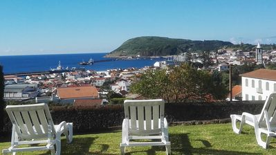 Photo for ★ Family House ★ Fantastic view over the Horta bay