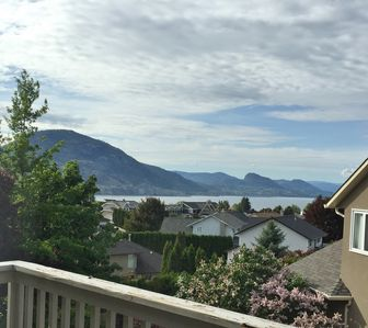 Lake view from private master bedroom deck.