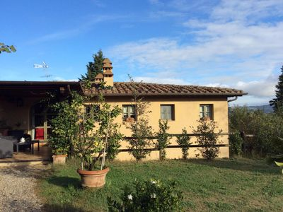 Photo for A private 5-star Chianti villa, lots of amenities and amazing views and serenity