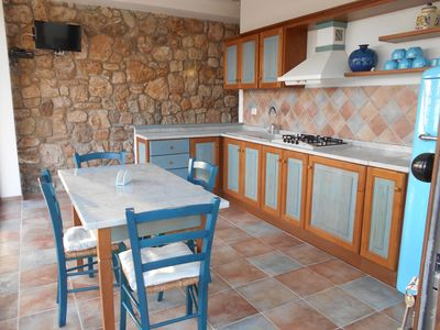 Photo for ELBA ISLAND SPLENDID VILLA WITH PANORAMA, TERRACE, WIFI AND AIR CONDITIONING