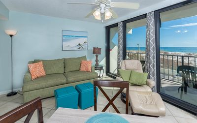 Photo for BEACH FRONT 1 Bedroom at Island Winds! Specials Available!