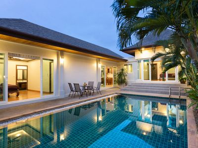Photo for Thai-Balinese Boutique Villa in Rawai, 3 bedrooms