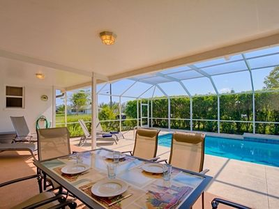 Photo for SW Cape Coral | Off Water | Oversize pool area with Western exposure, perfect even for Winter months