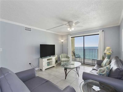 Great Space - The living room seats are comfortable, the view is spectacular, and the Florida experience is just around the corner. Book your stay at Regency Towers 1013 today!