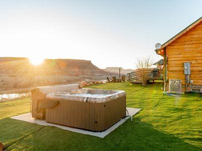 Photo for Zion Chalet Retreats, Reunion,Wedding sleeps 22 w/ hottub. 10 minutes from Zion