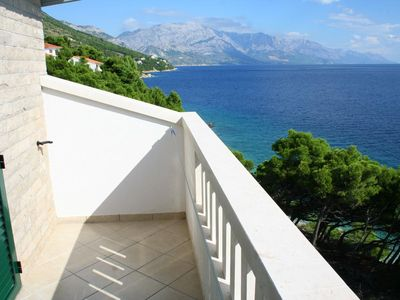 Photo for One bedroom apartment near beach Medići (Omiš)