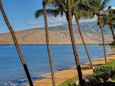 Photo for Remodeled Beach Front Condo - Great Views - Starts @ $189/nt - Kihei Beach #306