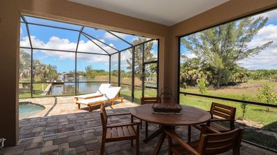 Photo for New Listing! Brand New Home!  Heated Pool, Waterfront, Boca Grance  Beaches