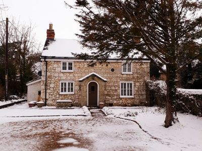 Photo for Weirside Cottage Brighstone - superbly presented Grade II listed cottage