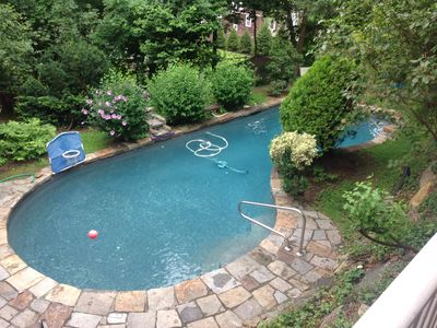 Photo for GORGEOUS SETTING in Prospect Park, White Plains - Pool, Deck, Porch, Bball court