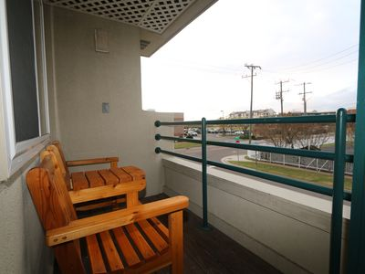 Photo for Sleek Condo with a Pool- Just Two Blocks from the Beach!