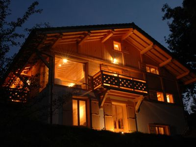 Photo for Grand Chalet Foot of the slopes: 7 rooms, SPA, SAUNA, Fitness Room 16/18 pers.