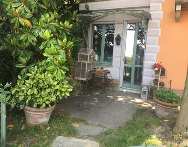 Photo for TORINO .LUXURY CHARMING VILLA .2 Bdr. PRIVATE PARKING. Air Cond. jardi