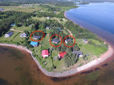 Photo for 3 Waterview cottages in Tracadie - Inquire if dates available/3 cottages