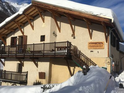 Photo for Serre Chevalier 1500 Large chalet charm View Top 14 pers