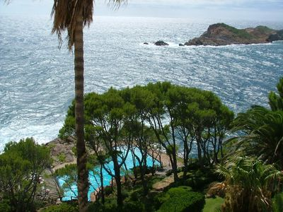 Photo for Cap sa Sal - Fabulous views over the sea & direct acces to the sea.