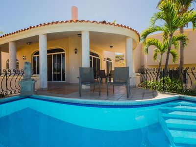 Photo for Inviting Ocean-View Villa in Pedregal Minutes to Downtown Cabo - Villa Sonrisa