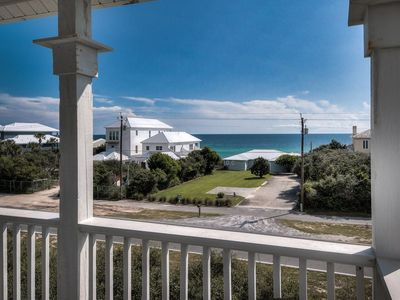 Photo for Gulf Views - Pet Friendly - Across the Street from the Beach! 4 Bikes! - `InconSEAvable`