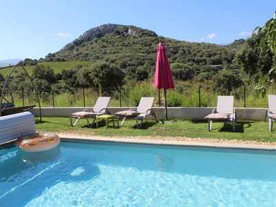 Photo for HOUSE BELLA VISTA MOUNTAIN VIEW WITH HEATED SWIMMING POOL