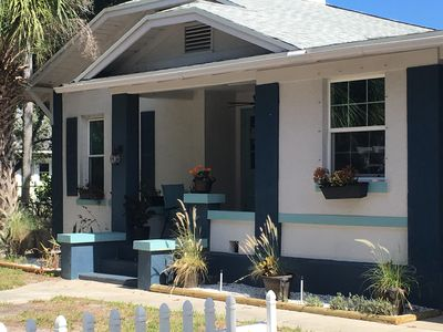 Photo for Downtown Ozona Bungalow! 5 min. to Honeymoon! Bikes, kayaks, & dog friendly!