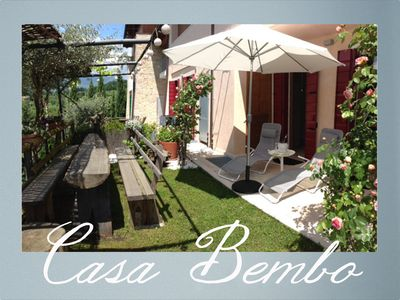 RELAX WITH A PROSECCO IN THE SUNNY GARDEN