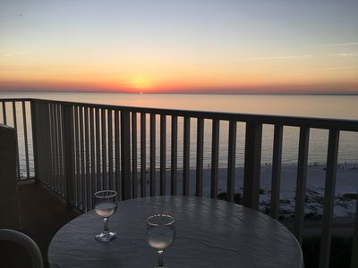 Photo for Stunning Gulf View And Sunsets From the Top Floor (12th floor)