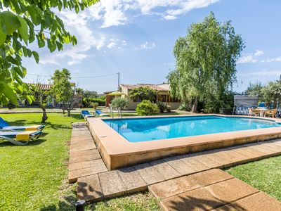 Photo for Traditional Villa with Private Pool, Hot Tub, Large Garden in Peaceful Location near Pollensa!