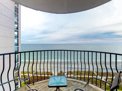 Photo for NEW LISTING! Waterfront condo w/ shared pools, hot tub, gym & beach access!