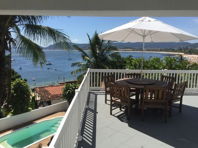 Photo for House on the sand, 3 suites, pool, stunning view