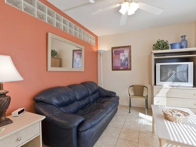 Photo for Gulfview II 205 - Updated Condo, Perfect for Small Families! Next to Isla Blanca Waterpark, Large Pool and Hot Tub