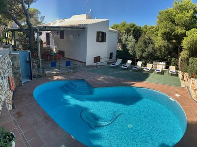 Photo for BEAUTIFUL VILLA WITH POOL WITH CAPACITY TO 11-12 PEOPLE