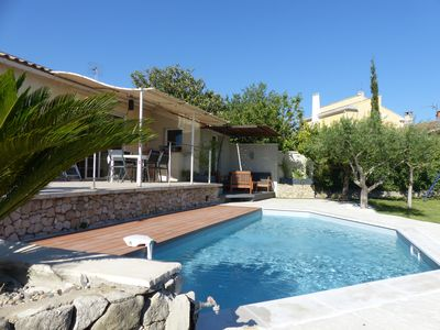 Photo for detached house with pool 4 or 5 people 2 bedrooms L'Isle sur la Sorgu