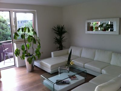Photo for Modern sunny apartment, perfect for couples and families to explore around Munich