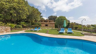 Photo for Petit - Pretty house with pool with great views of the monastery
