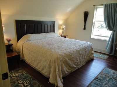 The Master Bedroom ~ King comforts!