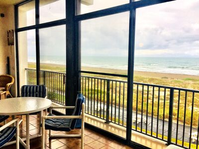 Photo for Direct Ocean Front Condo in Cocoa Beach 3rd Floor