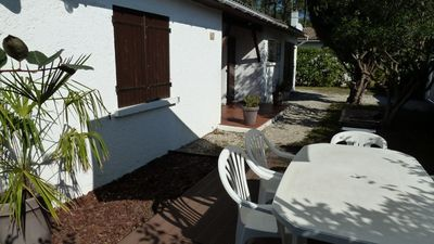 Photo for Independent House Bassin D'Arcachon (Ares) 10 min walk Beach St Brice