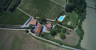 Photo for Buon Riposo - Farmhouse in the heart of Tuscany with free WIFI area