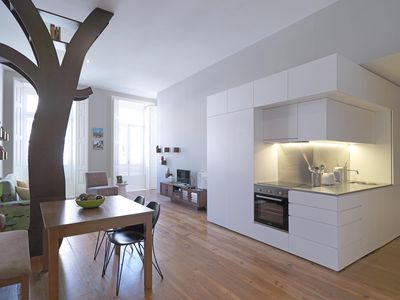Photo for Nature Sense apartment in Sé with WiFi, air conditioning & lift.