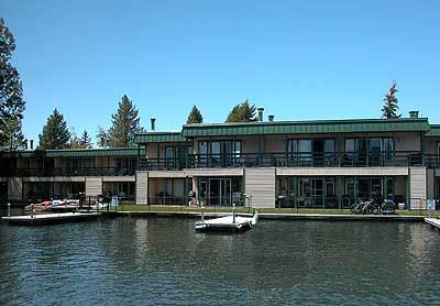 Photo for Popular Waterfront Condo with Mountain Decor