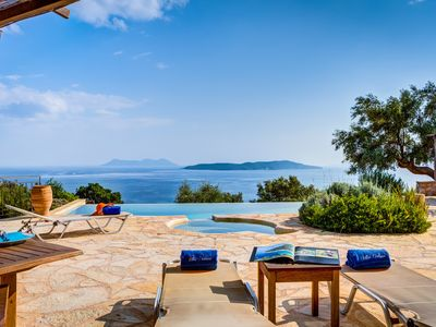 Photo for Villa Anatoli - Luxury seafront villa with private infinity pool