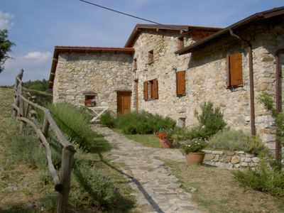 Photo for BIO GIORGIOALE FARM (LUMACHA APARTMENT) AND VAL DI VARA ADVENTURE PARK