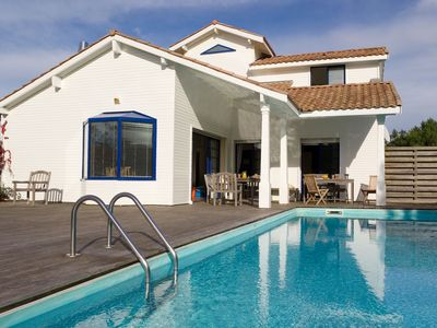 Photo for Nice villa with a private pool, just 900 m. from the beach