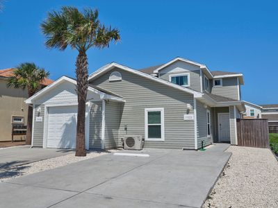 Photo for Private 5/3 Duplex close to Beach! Comes w/Saltwater Pool, Free Wifi & more!