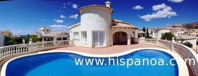 Photo for Superb villa sea view and pool on the Costa Blanca for rent in cumbre del sol