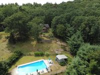 Close to downtown Woodstock and has a pool!