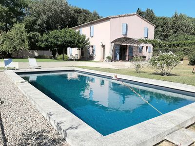 Photo for Beautiful provencal house 220m2, large pool, Mediterranean garden